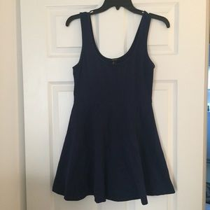 Forever 21 Dark Blue Short Dress